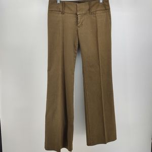 Anthropologie Billy Blues Olive Green Pants